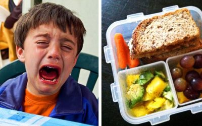 Teacher Grabs Crying Kids Lunch and Tosses It In The Trash! Then Tells Him He Can't Eat This At School Again!