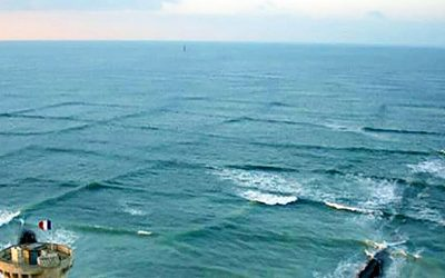 If You Notice Square Waves At The Beach Run Out Of The Ocean Right Away! Don't Take a Chance.