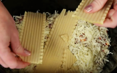 She Takes Broken Noodles And Puts It In a Crock-Pot. The End Result Is Unexpectedly GENIUS!