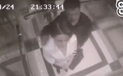 Stranger Creeps Up Behind THIS Lady In an Elevator and Grabs Her But Then The UNTHINKABLE Occurs!