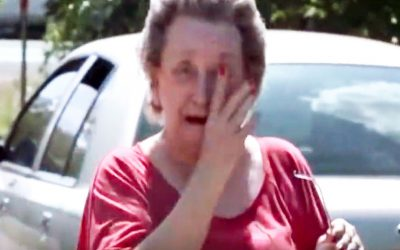 Elderly Granny Notices 4 Strange Boys On Her Property. When She Realizes What They're Doing She's STUNNED!