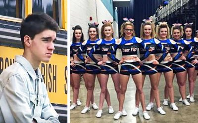 Boy Gets Cruelly Rejected Before Dance and Everyone Makes Fun Of Him. Then 13 Girls Line Up and Do THIS