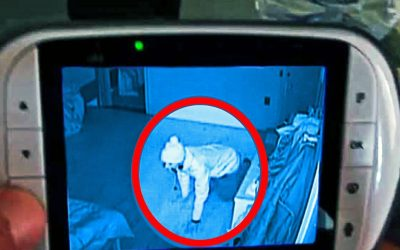 Mother Heard Strange Sounds On Baby Monitor. She Sprints Into Room and Sees Baby Is Not Alone!