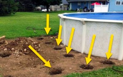 He Drilled Holes Into His Lawn Which Concerned The Neighbors. But Days Later They Are Stunned!