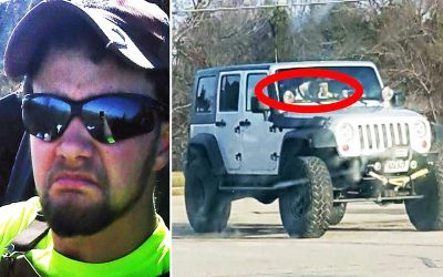Guy Notices a Strange Jeep At Walmart For a Few Weeks. So He Proceeds To Confront The Driver.