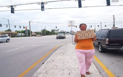 She Spots a Pregnant Homeless Woman Begging For Money. But Then She Sees The UNTHINKABLE Truth!