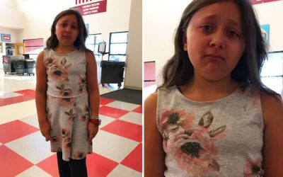 11-Year-Old Girl Put On Her Favorite Dress For School Photo Day. But How The School Reacted Left Her Hysterical In Tears!