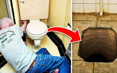 This Guy Was Putting In a New Toilet When He Suddenly Discovered a Secret That Hadn't Been Seen For Over a Century!