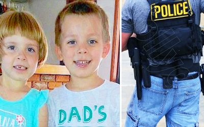 These 2 Little Kids Mysteriously Disappeared 3 Years Ago! But Then 1 Morning Cops Bang On Desperate Dad's Door!